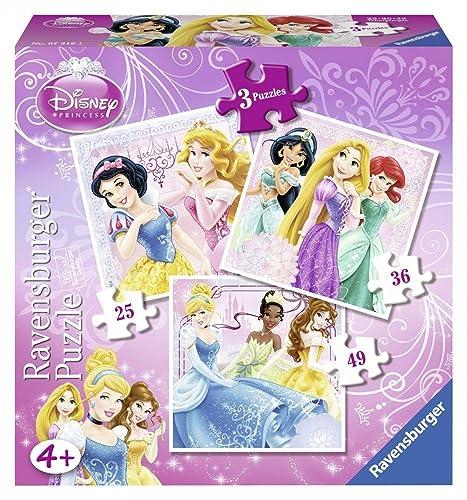 Disney Princess 7319 Ravensburger 3-in-1 Friends Box