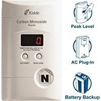 Nighthawk AC Plug-in Operated Carbon Monoxide Alarm with Digital Display