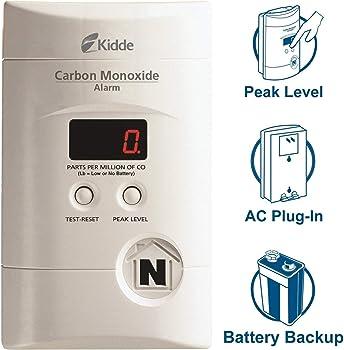Kidde Nighthawk AC Plug-in Operated Carbon Monoxide Alarm