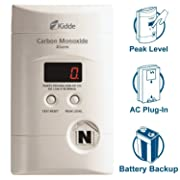 Kidde Nighthawk Plug-in AC/DC Carbon Monoxide Alarm Detector with Digital Display KN-COPP-3