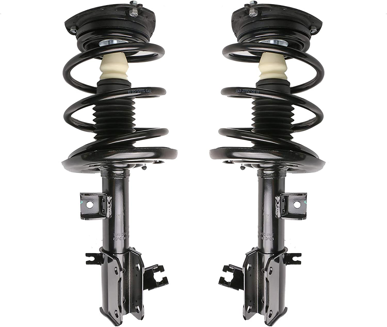 MOSTPLUS 2X Front Complete Max Challenge the lowest price 87% OFF Spring 172392 Compatibl Struts 172393