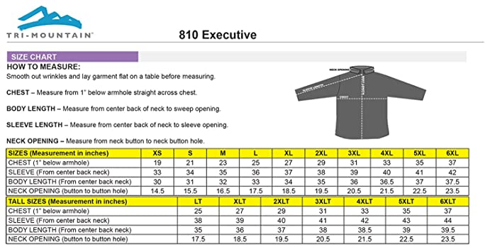 TRM Men's 100% Cotton Executive Woven Twill Dress Shirt (19 Colors ...