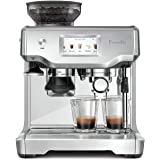 Breville Barista Touch Semi-Automatic Touchscreen Espresso Machine Bundle w/Extra ClaroSwiss Filter Included - BES880