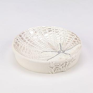 Amazon.com: Avanti lentejuelas Shell Bath Collection: Home ...