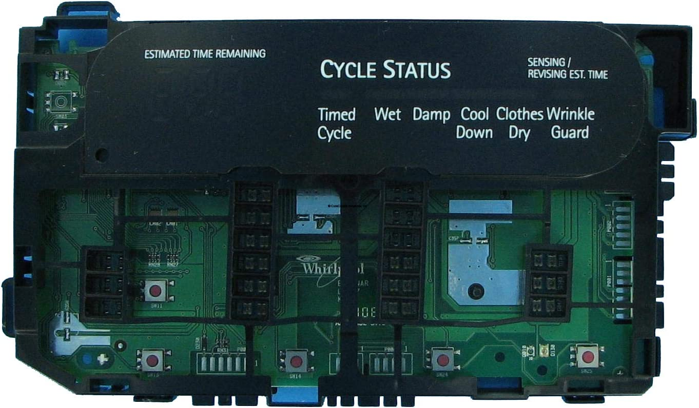 CoreCentric Laundry Washer User Interface Control Board replacement for Whirlpool W10339947 / WPW10339947 (Renewed)