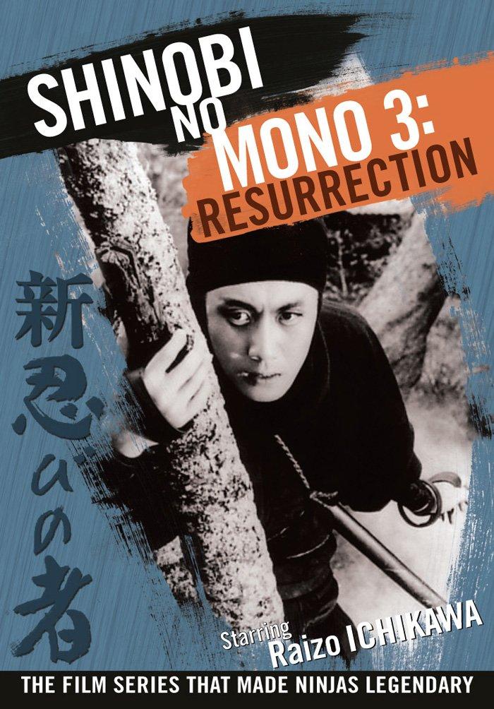 Amazon.com: Shinobi No Mono 3: Resurrection: Raizo Ichikawa ...
