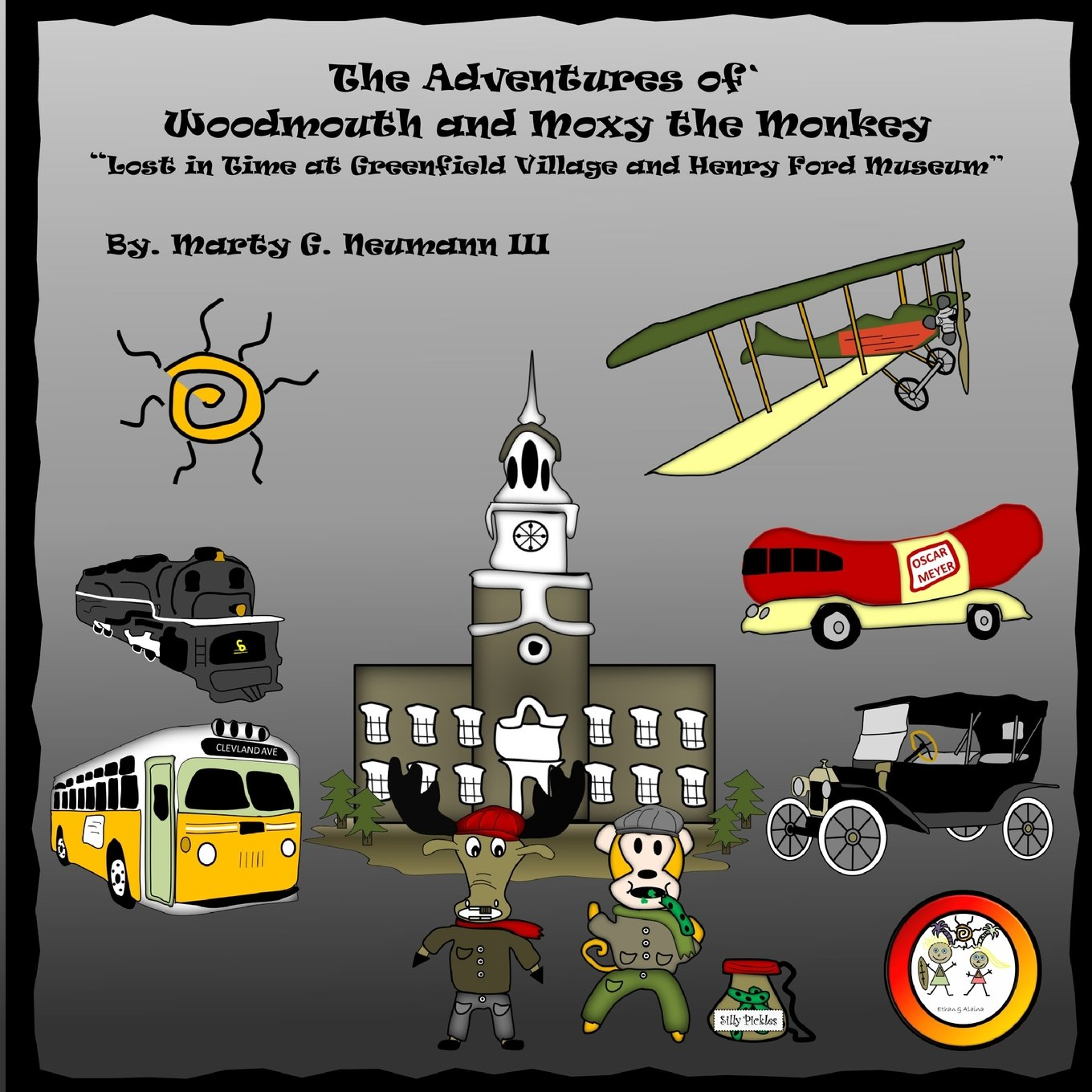 Read Online The Adventures of Woodmouth and Moxy the Monkey: Lost in Time at Greenfield Village & Henry Ford Museum pdf epub