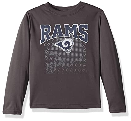 Image Unavailable. Image not available for. Color  NFL Los Angeles Rams  Male Long sleeve Team Logo Tee ... eb4425b90