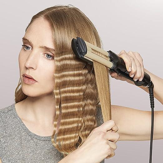 BaByliss 2337U - Ondulador de pelo, color negro: Amazon.es: Salud y cuidado personal