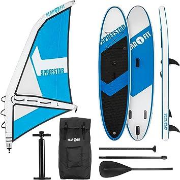 KLAR FIT Spreestar WL - Paddle Surf con o sin Vela, Tabla Sup ...