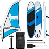 Klarfit Spreestar Tabla de pie Hinchable • Paddleboard • Paddle Surf • Tabla Sup • Bomba