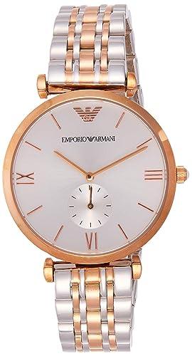 Amazon.com: Emporio Armani - Reloj de cuarzo para mujer con ...