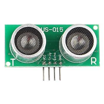 HALJIA US-015 Ultrasonic Distance Measuring Sensor: Amazon co uk