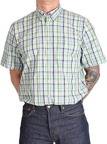 Marvelis Casual - Camisa para hombre con casilla: Amazon.es: Ropa y accesorios