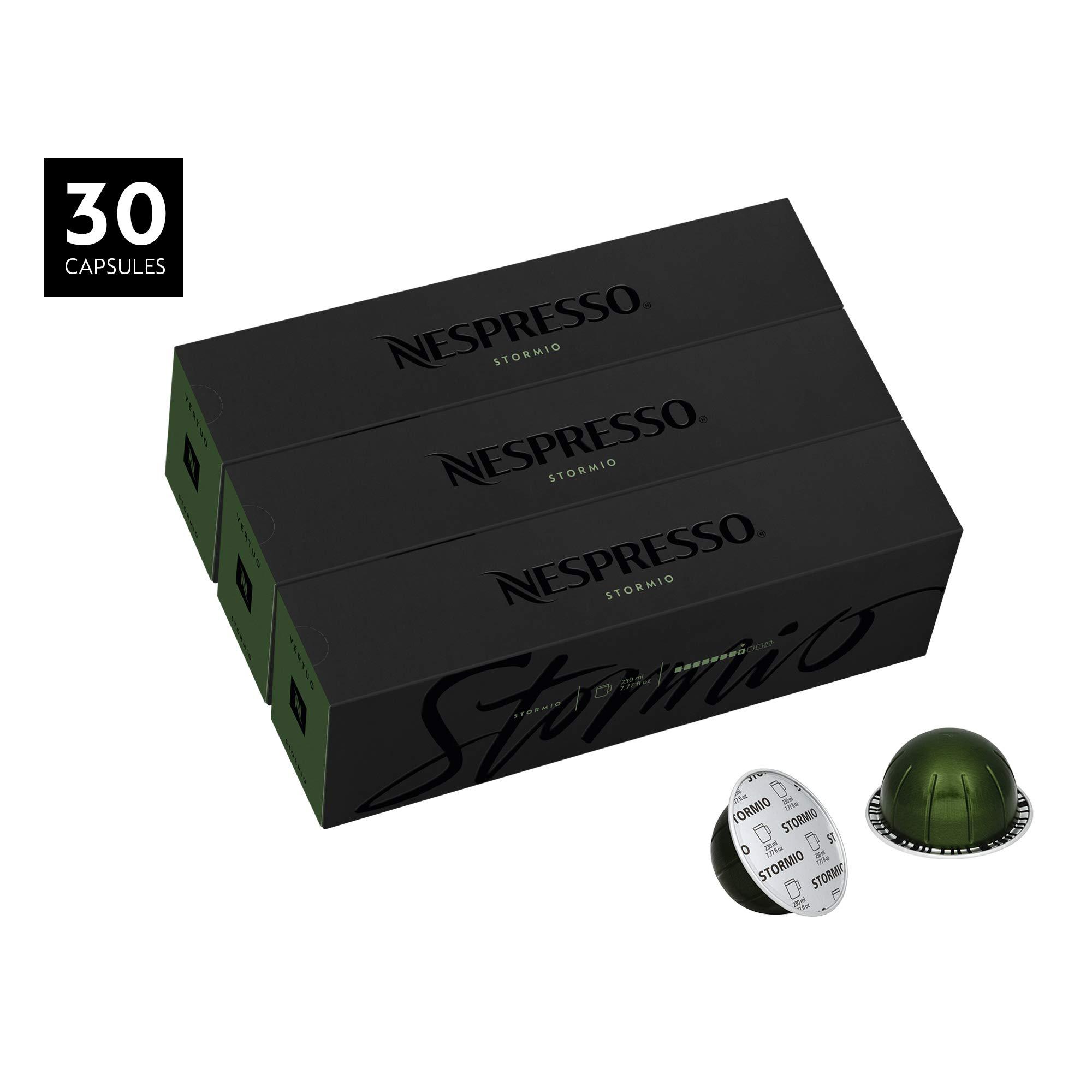 Nespresso VertuoLine Coffee, Stormio, 30 Capsules by Nespresso