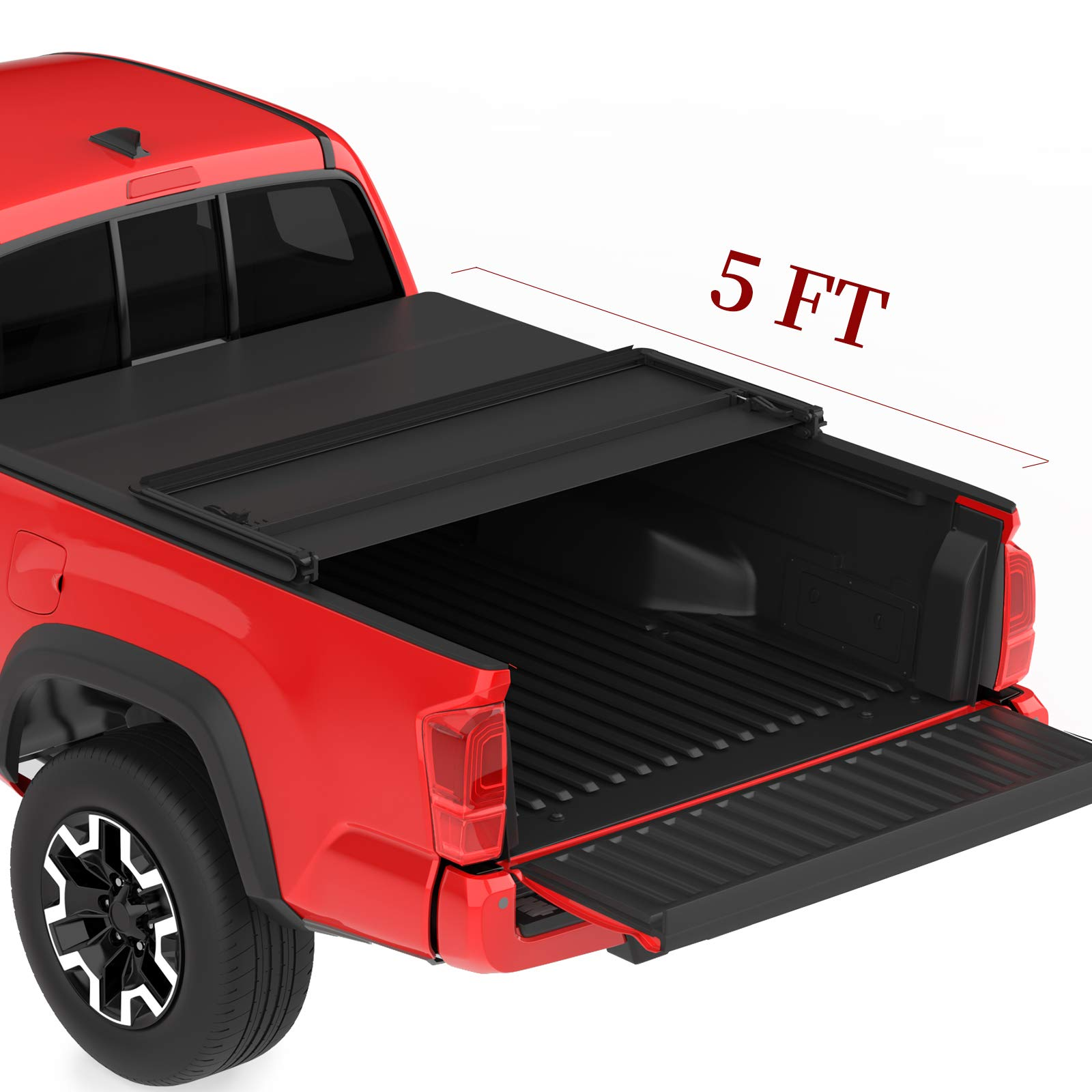 Oedro Upgraded Soft Tri Fold Truck Bed T Buy Online In Jamaica At Desertcart