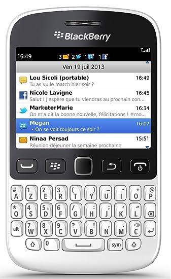 BlackBerry 9720 Smartphone (White), Factory Unlocked, OS 7 1, 5MP Camera,  IPS Screen, Qwerty Keyboard, WIFI N, GPS