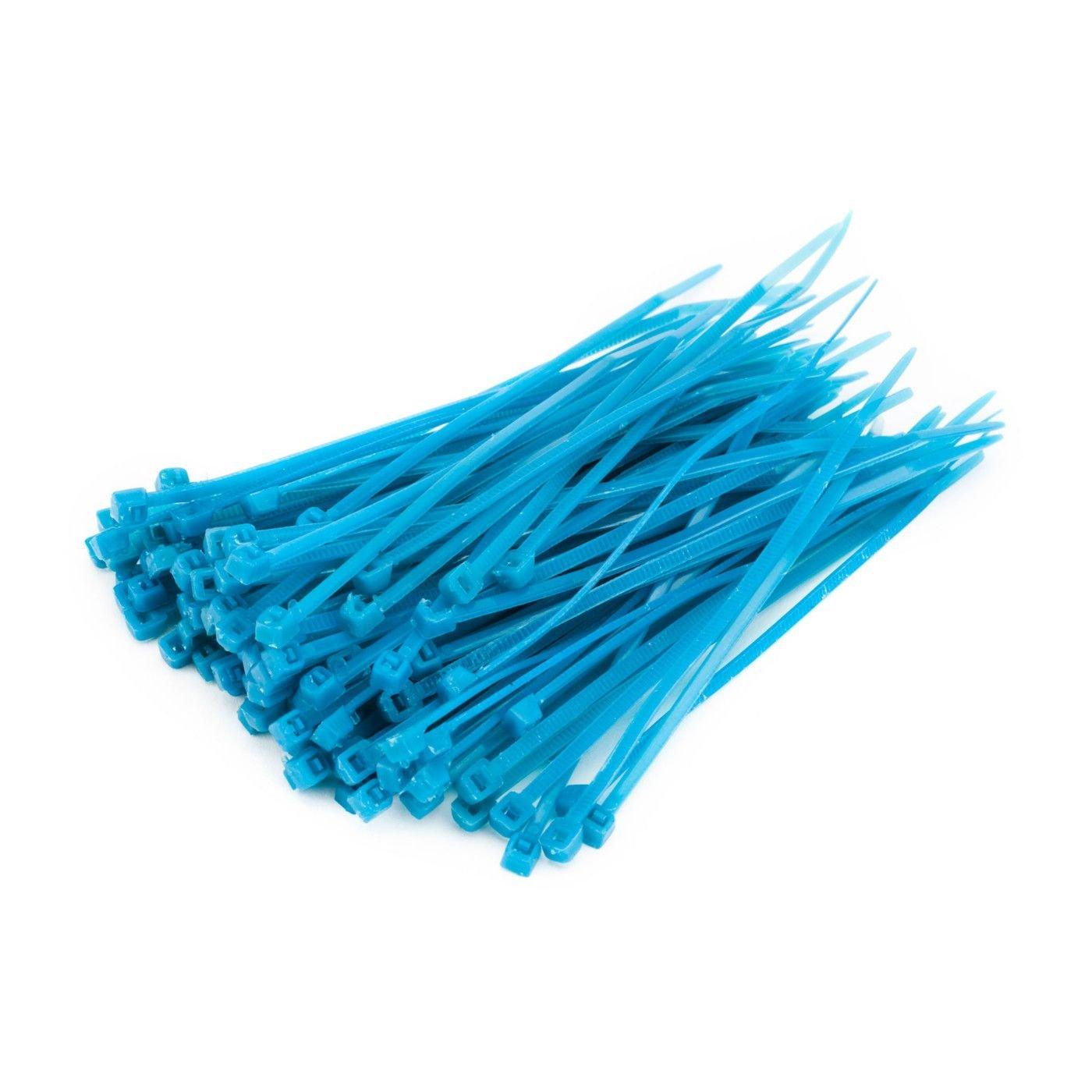 Small Cable Tie (100), Blue   B005I0ILOE