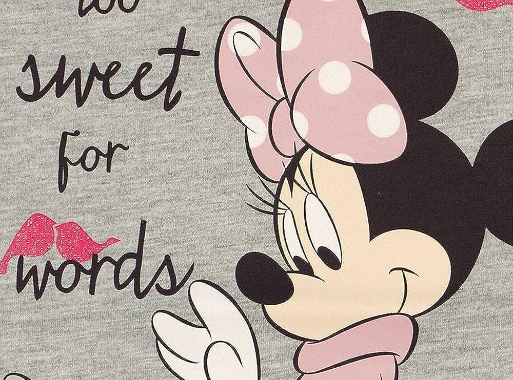 super s/ü/ßes Tunika-Kleid 92 Baby-Kleid//M/ädchen Kleid LANG-ARM von Disney Minnie Mouse aus 100/% Baumwolle in GR/ÖSSE 74 80 98 86 104 toll mit Leggings zu kombinieren