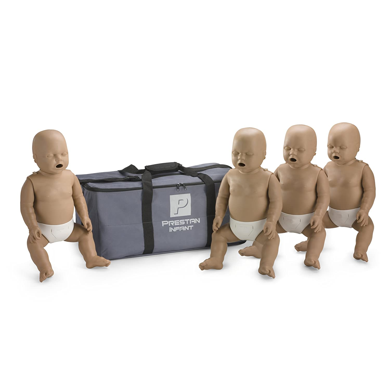 Prestan Finally resale start Infant Dark Skin CPR-AED Training SALENEW very popular! o C Manikins w 4-Pack