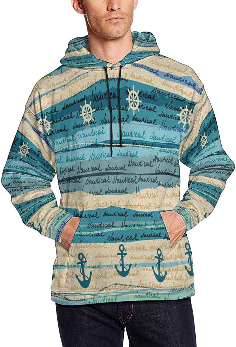 INTERESTPRINT Mens Plum Blossom Traditional Chinese Painting Sweatshirts Hoodie