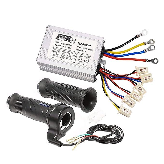 Amazon com: WPHMOTO 48V 1000W Motor Brush Speed Controller