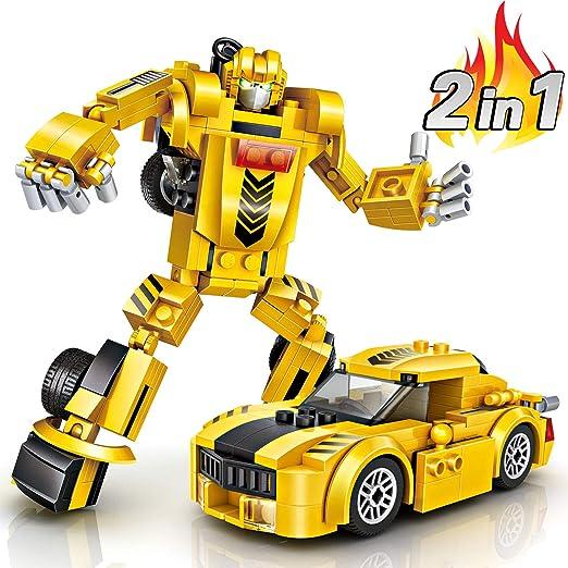 joylink Juguete de Coche de Robot 2 en 1 Coche de Deformacion para ...