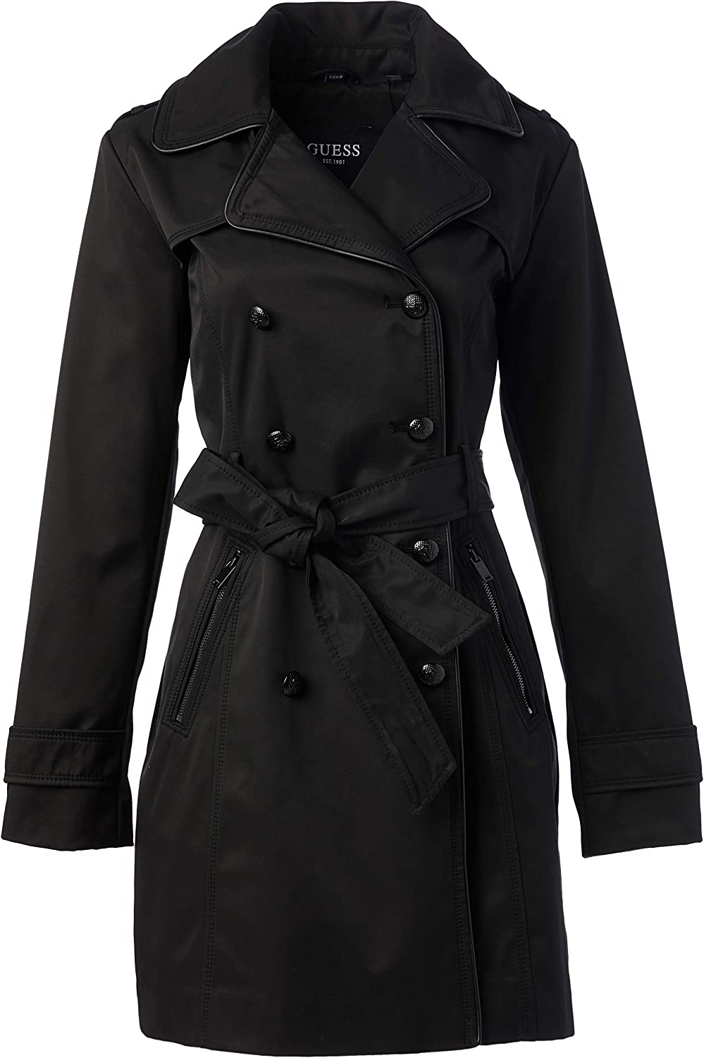 GUESS Womens Ladies Double Breasted Trenchcoat