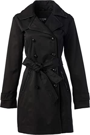 GUESS Women's Double Breasted Trenchcoat