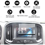 YEE PIN Compatible with Protects Tempered Glass, Protect The Navigation Screen from External Damage 2017 2018 Colorado WT My Link 7 Inch