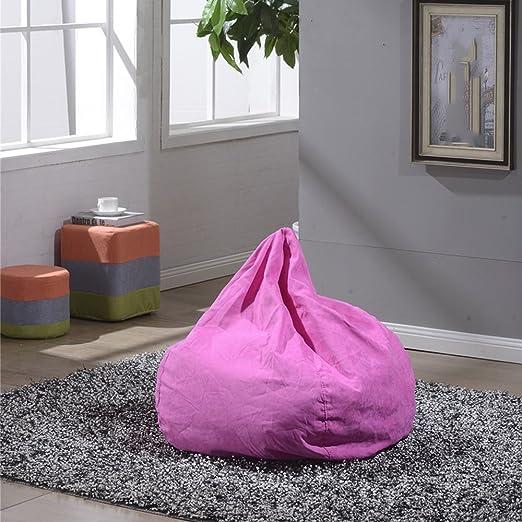 Amazon.com: Creative Bean Bag Removable Wash Cloth Lazy Sofa Chair ...