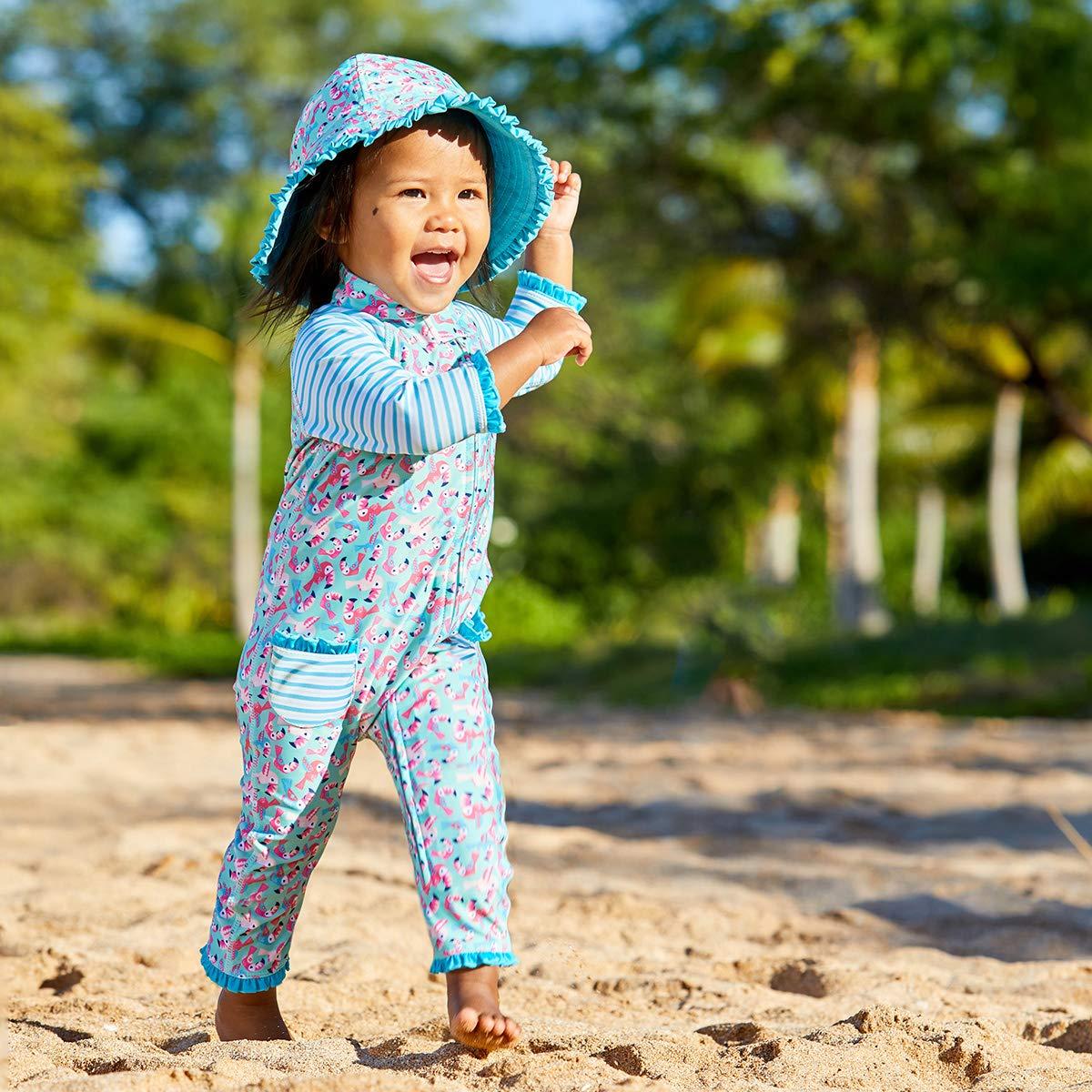 Kids/' Sun-Blocking Swimwear Body Sun//Swim Suit UV Skinz Baby Girls/' UPF 50