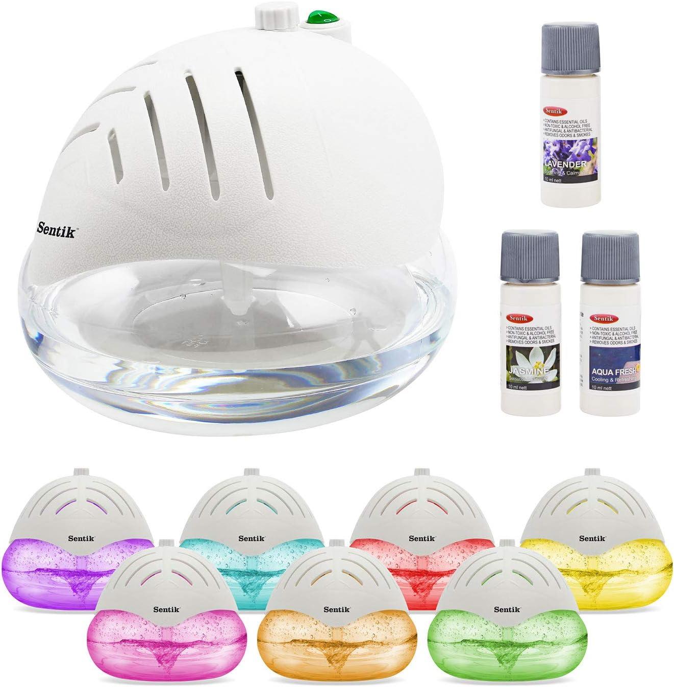 Sentik Purificador de Aire y ionizador con farbveränderndem LED ...