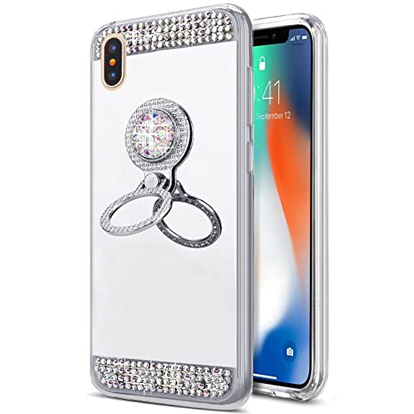 coque iphone xs max avec bague