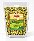 Sunbest Organic Chamomile Flowers, Egyptian, Whole / Loose, Caffeine Free, Herbal Leaf Tea - Relaxing Tea (16 Oz (1 Lb))