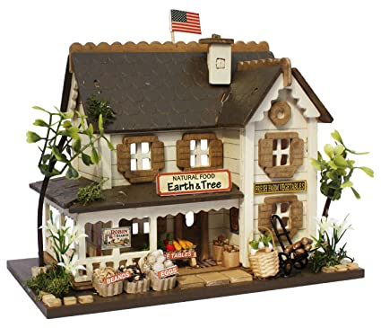 Amazon Com Billy Handmade Dollhouse Kit The Woody House Collection