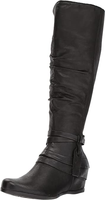 1TO9 Womens Fringed Charms Solid Urethane Boots MNS02694