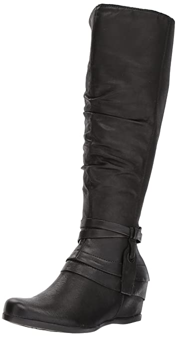 5451e4272014 BareTraps Women s Bt Quarles Riding Boot Black 6 US 6 ...