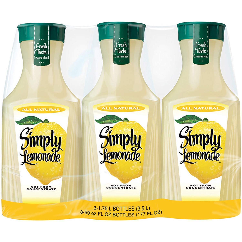 Simply Lemonade, 3 pk./52 oz.. by Europe Standard