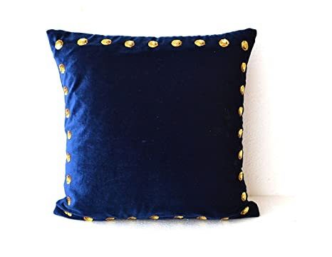 Amazon.com: Azul marino almohada Covers- Azul Marino ...