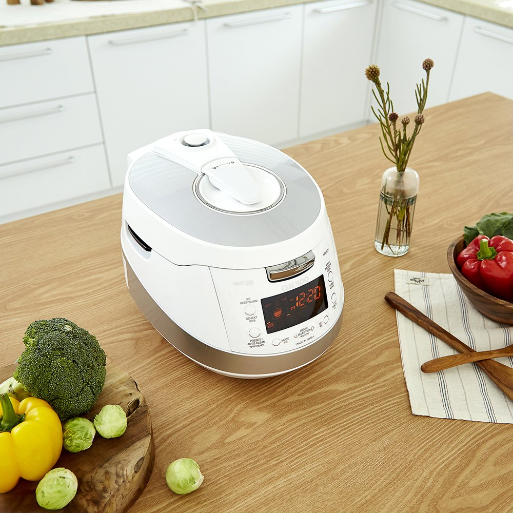 Cuckoo Electric Induction Heating Pressure Rice Cooker CRP-HS0657F (White) by Cuckoo (Image #3)