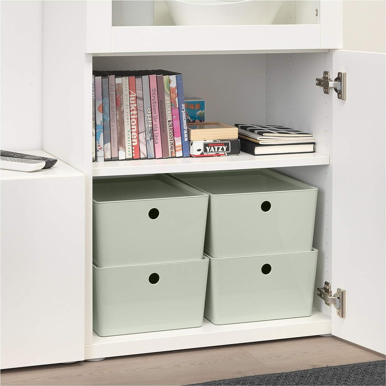 IKEA.. 404.083.42 Kuggis - Caja de Almacenamiento con Tapa ...