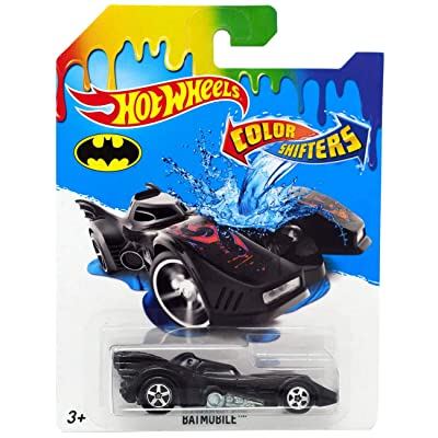 Hot Wheels Color Shifters 2016 Series Batman Batmobile Bat Mobile: Toys & Games