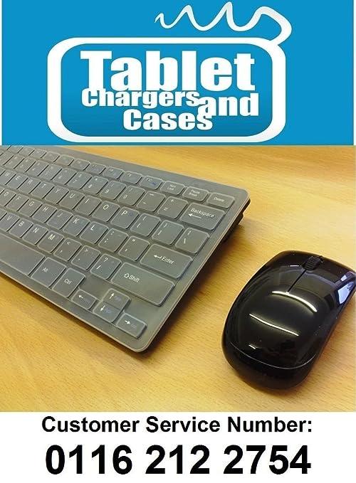 "Negro Wireless Mini teclado y ratón para LG 60PH670 V 3d Smart 60 ""Plasma"