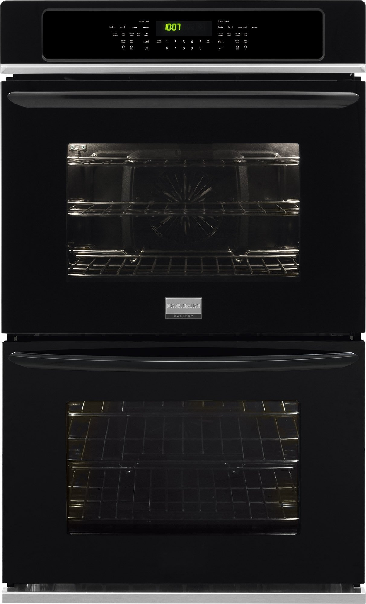 Frigidaire FGET3065PBGallery 30'' Black Electric Double Wall Oven - Convection by Frigidaire