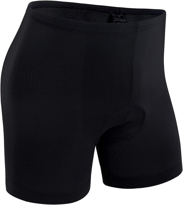 Ohuhu Men's 3D Padded Cycling Underwear Bike Bicycle Shorts Underwear: Clothing