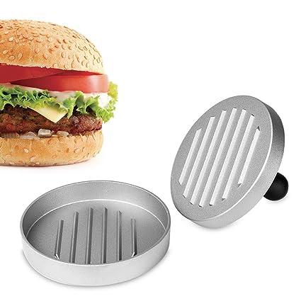 Henweit hamburguesa prensa antiadherente molde hamburguesas ...