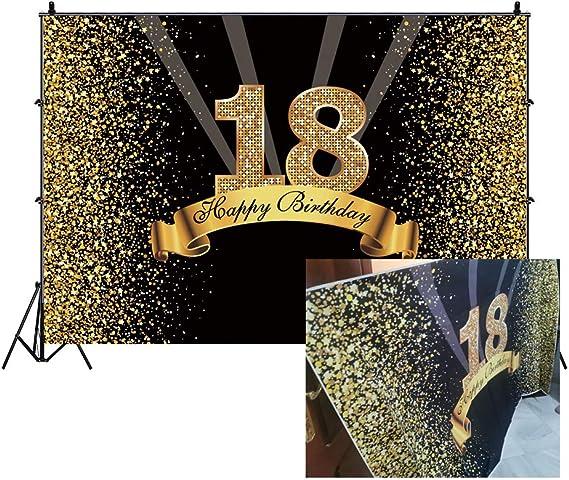 Cassisy 1 5x1m Vinyl Geburtstag Fotohintergrund 18 Kamera