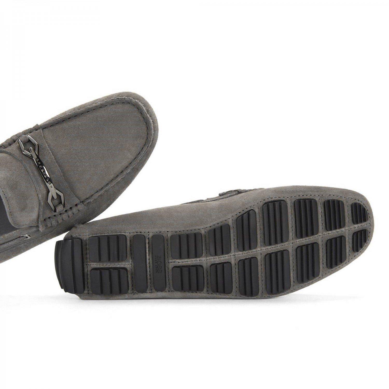 Mocasín Hugo BOSS Hombre Driprin 50310871HB060 Gris - 42: Amazon.es: Zapatos y complementos
