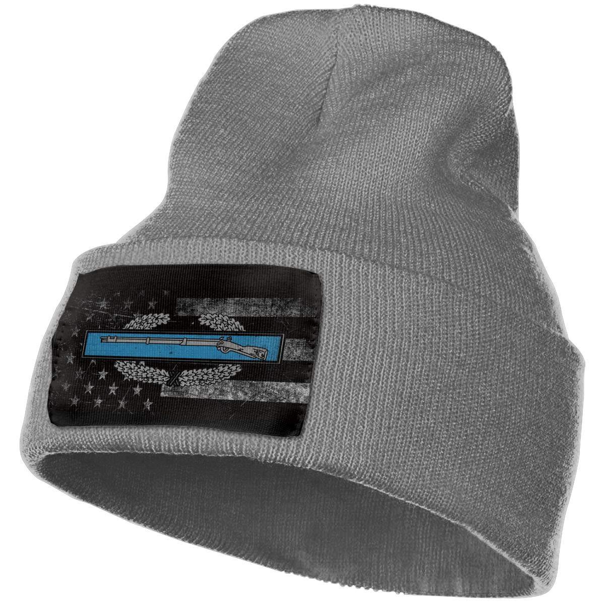 FORDSAN CP US Army Retro Combat Infantryman Mens Beanie Cap Skull Cap Winter Warm Knitting Hats.